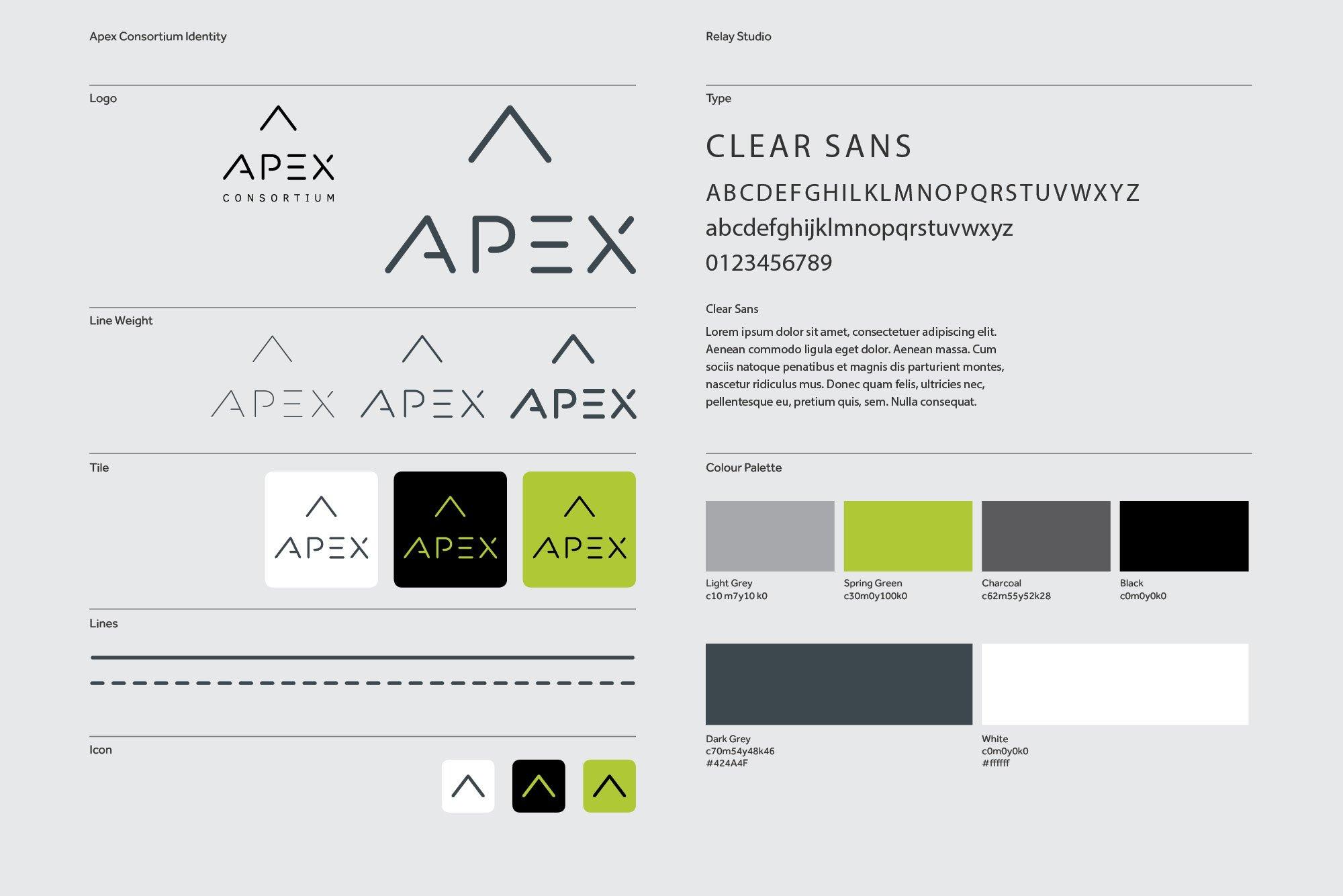 Apex Consortium Visual Identity